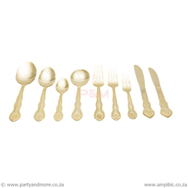 Fork Table - Gold