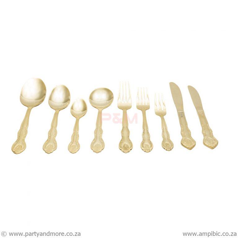 Fork Cake - Gold